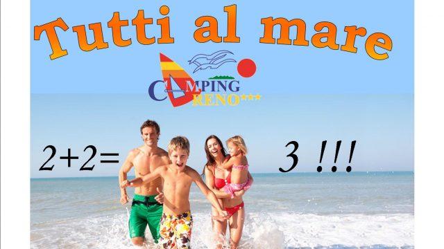Offerta Tutti al Mare  2+2=3 *** !!!