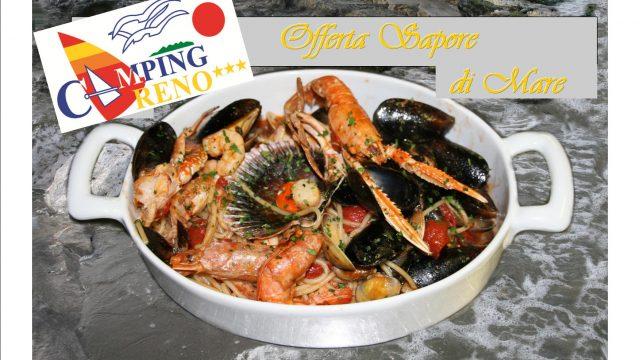 Offer Taste of the sea**