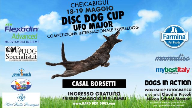 DISC DOG CUP