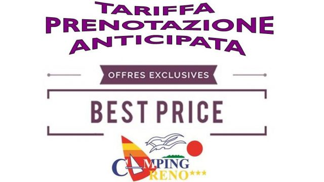 Tariffa prenotazione anticipata